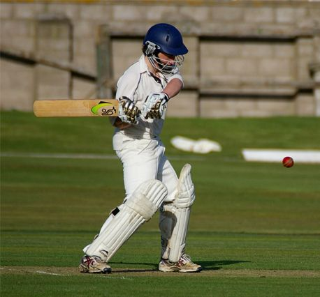 Gav during his innings of 76